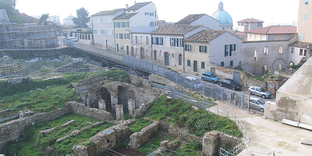 Anfiteatro Romano di Ancona è ancora un luogo di scavi ...