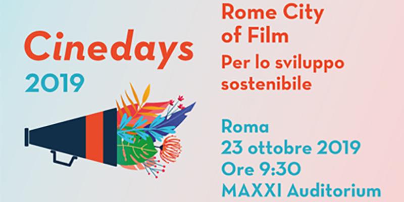 Archisal- Cinedays 2019 Rome City of film