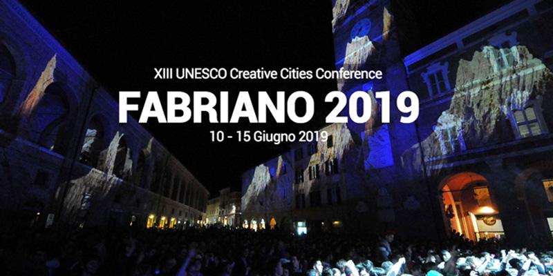 Archisal- Fabriano Unesco Creative Cities Conference 2019
