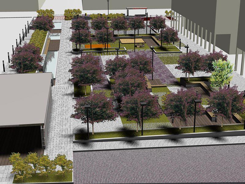 Archisal- Piazza Industria COPERT